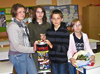 Frišov spremnik za male baterije u OŠ u Kalinovcu